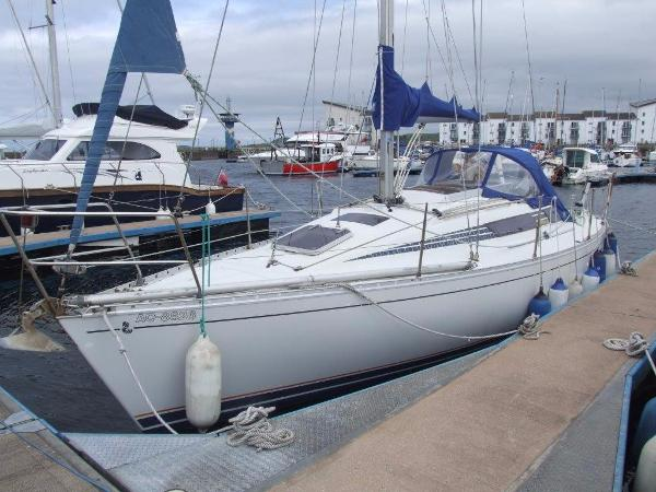Beneteau First 29 At Berth