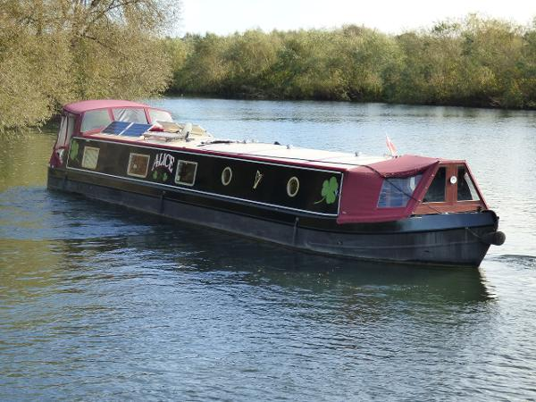 Wide Beam Narrowboat 60 x 12 Collingwood