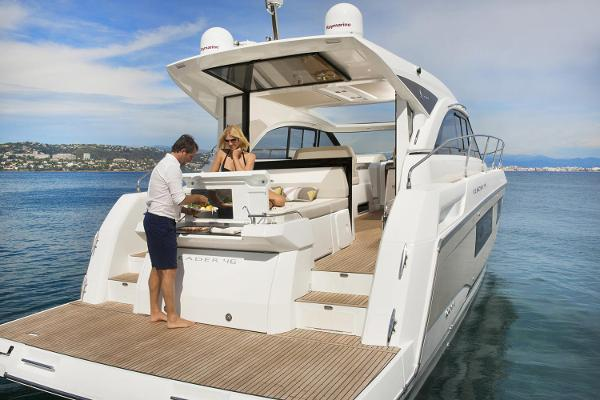 Jeanneau Leader 46 Leader 46 Galley on Swim Platform