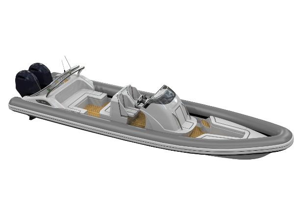 Cobra Ribs Nautique 8.7m Manufacturer Provided Image: Cobra Ribs Nautique 8.7m