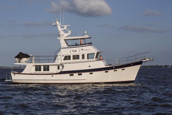 Kadey-Krogen Yachts  - Krogen 58' Extended Bridge