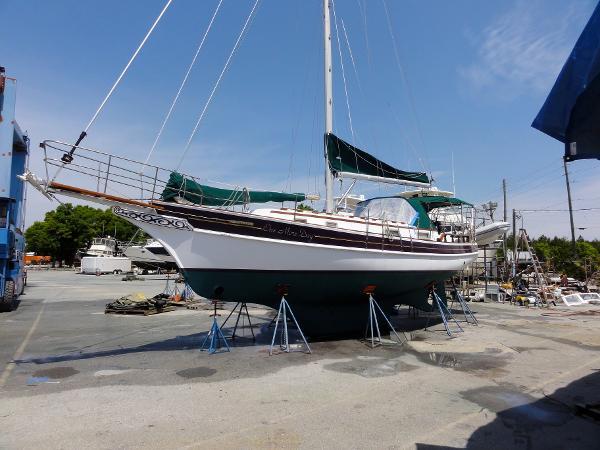 Gozzard 36 Port Profile - Classic