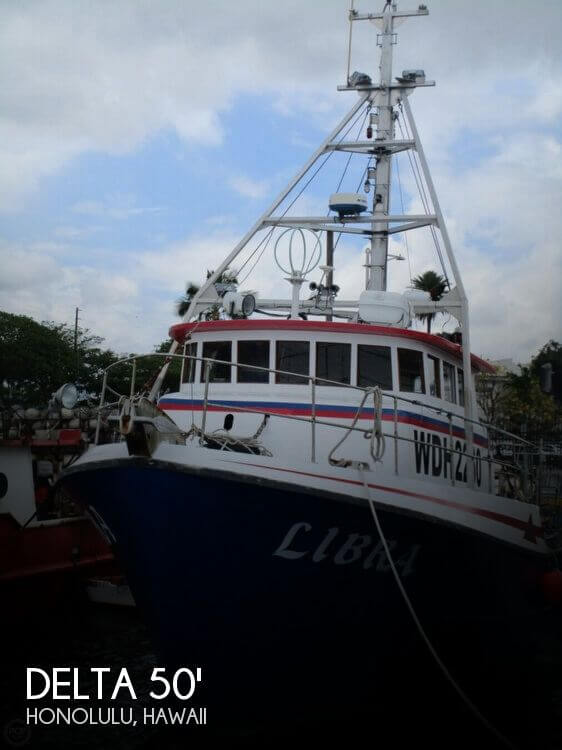 Delta 50 Commercial Fishing Boat 1975 Delta 50 Commercial Fishing Boat for sale in Honolulu, HI