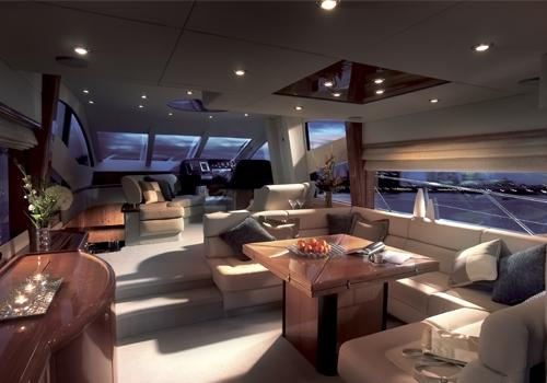 Sunseeker Manhattan 60 Manufacturer Provided Image: Main Saloon