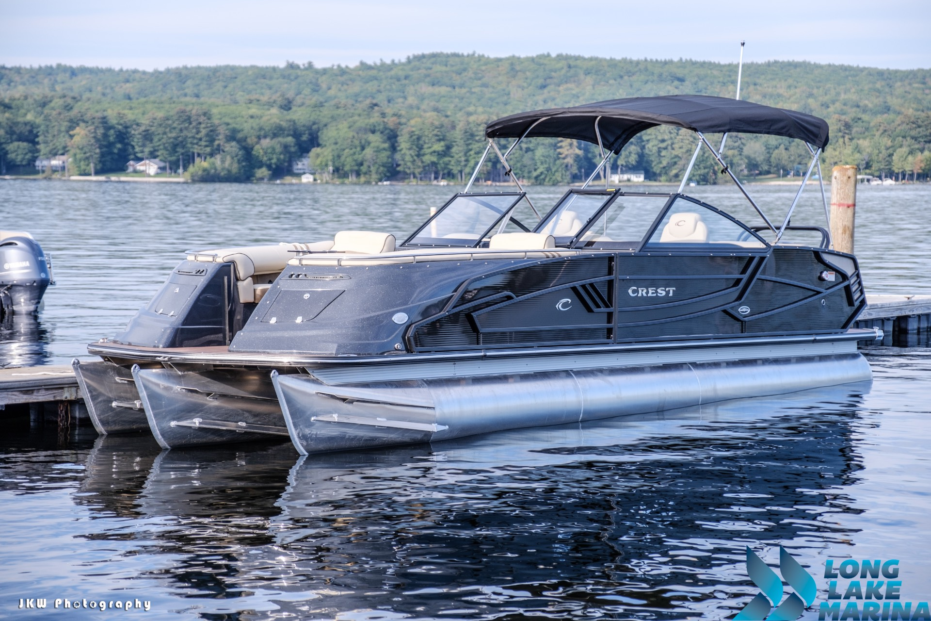 Crest Pontoon Boats Continental NX 27