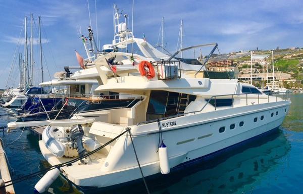 Ferretti Yachts 62 Anniversary