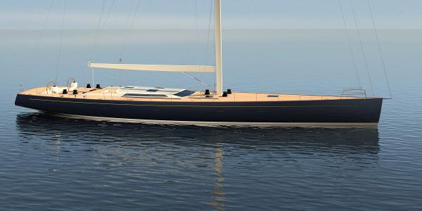 Front Street Shipyard 102' Performance Sloop