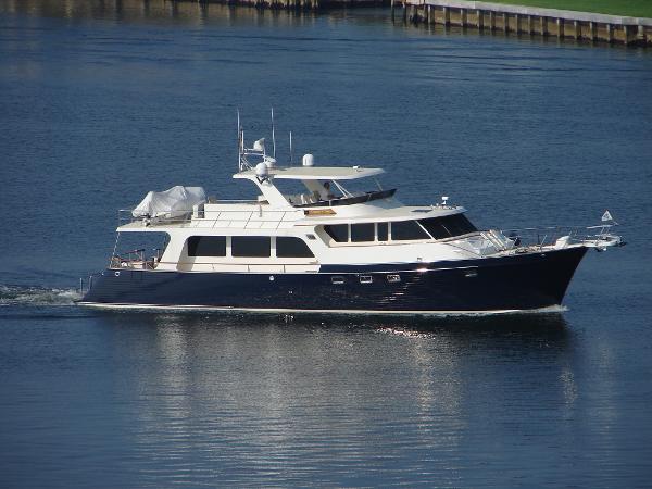 Marlow 70E Starboard Side Profile