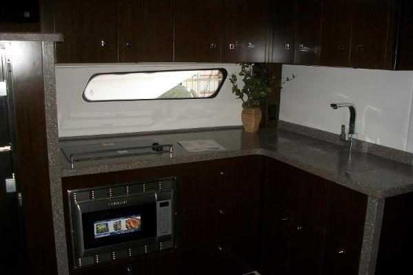 Fully Equipped Galley With Lots Of Storage