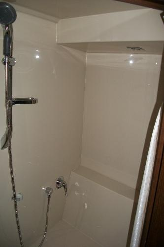 Forward Stateroom Separate Shower Stall