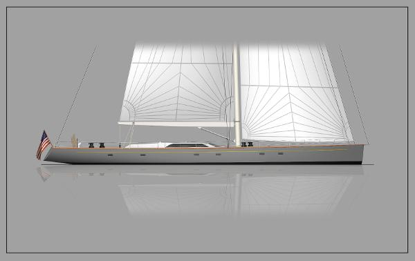 Front Street Shipyard 112' Performance Sloop