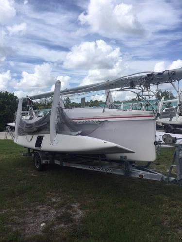 Corsair Sprint 750 #376 Starboard On Trailer