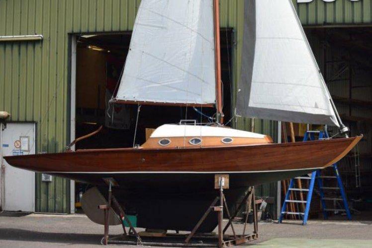 Klassieke zeilboot 7,25m