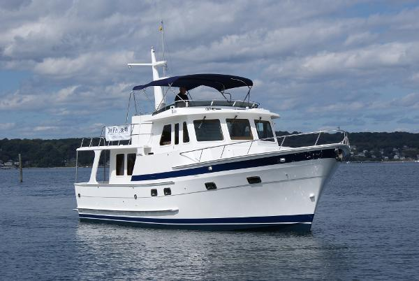 DeFever 46 Pilothouse Starboard Bow View