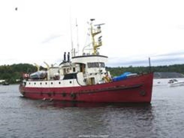 Russel-Hipwell Custom Yacht Steel converted CCG vessel