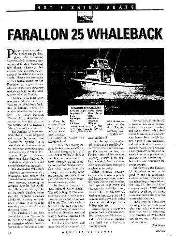 Farallon 25 Whaleback Magazine Article