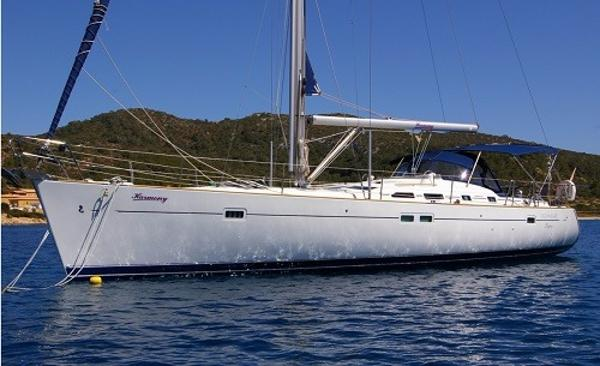 Beneteau Oceanis 473 Anchored up