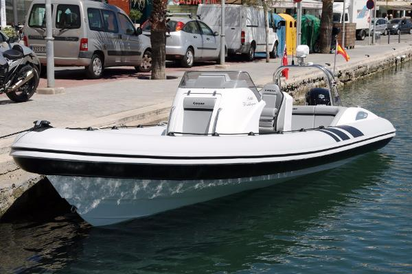 Cobra Ribs Nautique 7.2m Manufacturer Provided Image: Cobra Ribs Nautique 7.2m