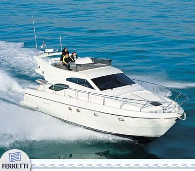 Ferretti Yachts 430 Manufacturer Provided Image