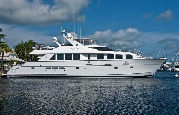 Hatteras 92 Elite Series CPMY Profile