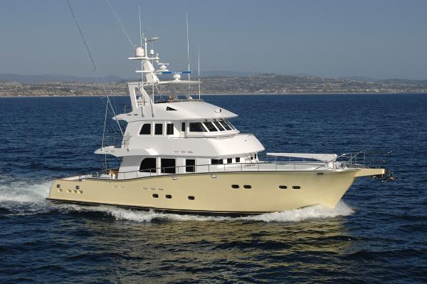 Nordhavn 75 Expedition Yachtfisher Exterior-Running