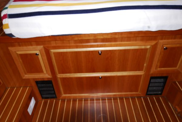 Large Drawers in Master Stateroom