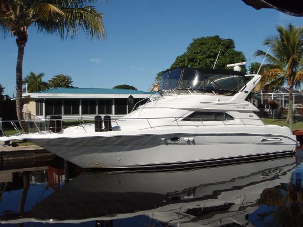searay 450 Express Bridge 450 Profile