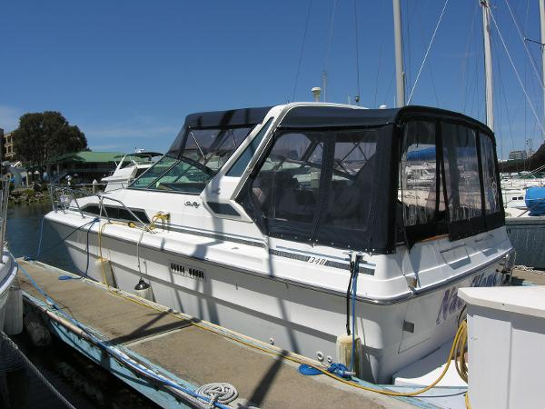 Sea Ray 340 Express Cruiser Side View