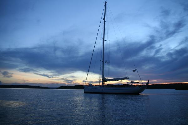 Aluminium custom built sailing yacht Bestevaer 56 'Tranquilo'