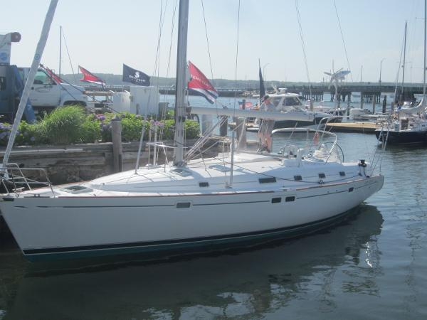 Beneteau Oceanis 461- Two Stateroom  At the Dock