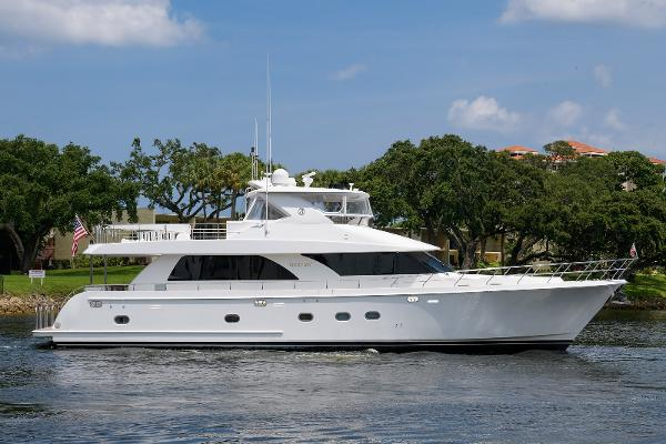 Ocean Alexander 74 Open Flybridge Motor Yacht 78 Knotty Girl