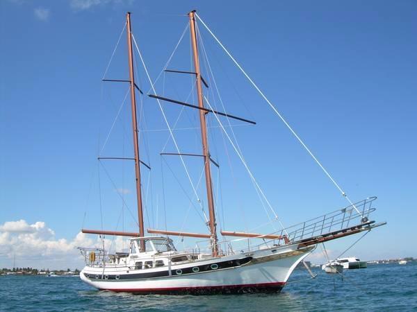 CT 54 Brigantine Staysail Schooner