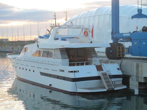 Motor Yacht Cantieri Navali Napoletani F80