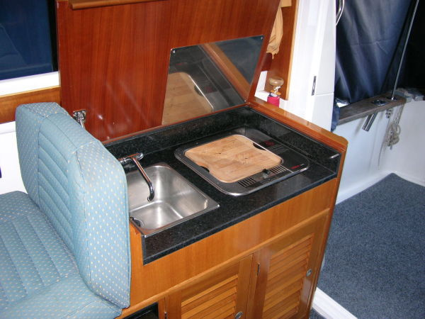 Starfisher 840 Galley