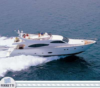 Ferretti Yachts 76 Manufacturer Provided Image