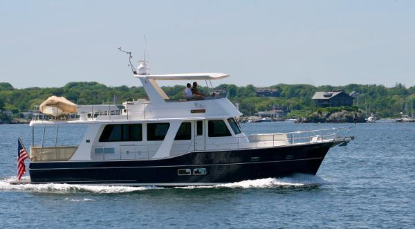 Grand Banks 54 Heritage EU Starboard Profile