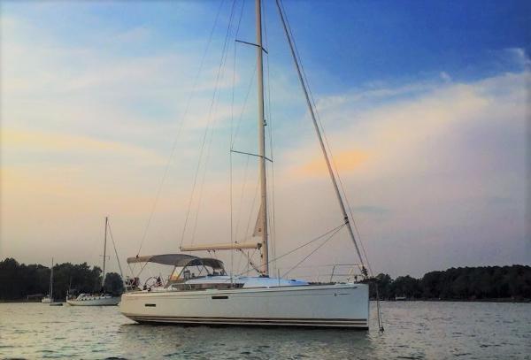 Jeanneau Sun Odyssey 379 At Anchor