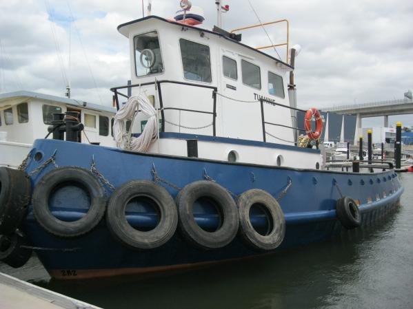 Custom Steel 50' Tug