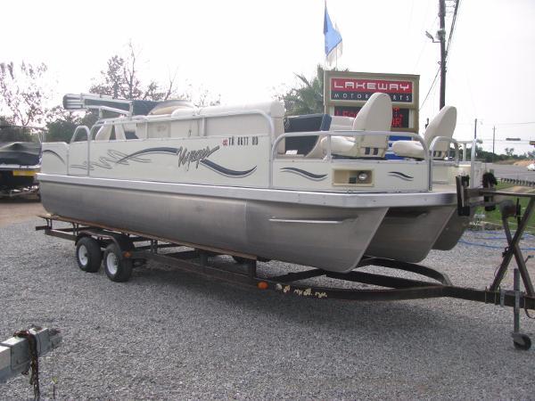 Used pontoon voyager marine boats for sale for Fish express kalamazoo mi