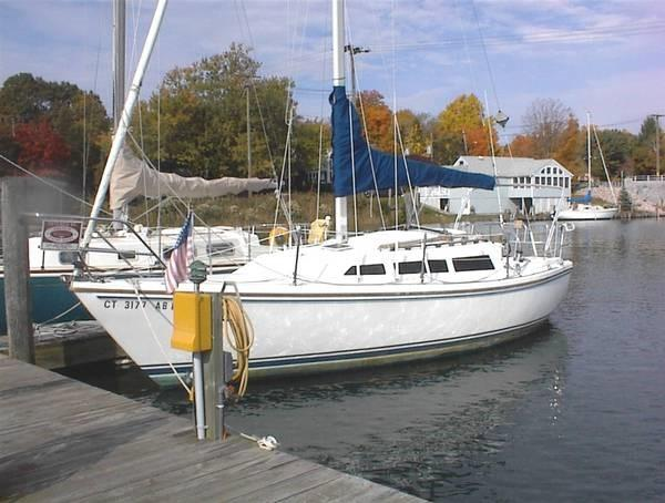 Catalina Sloop Photos are of a similar sister ship