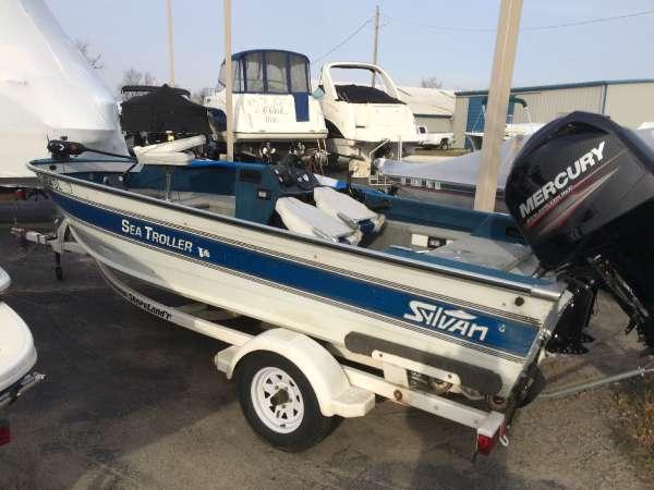 Sylvan 16ft Sea Troller V16 SC