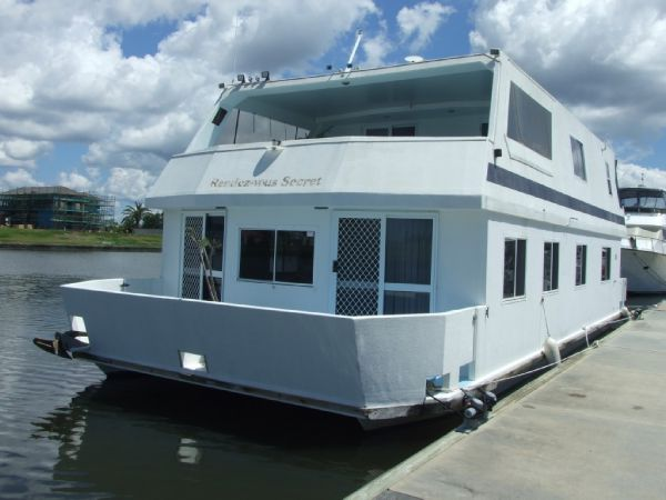 Custom 48' Houseboat