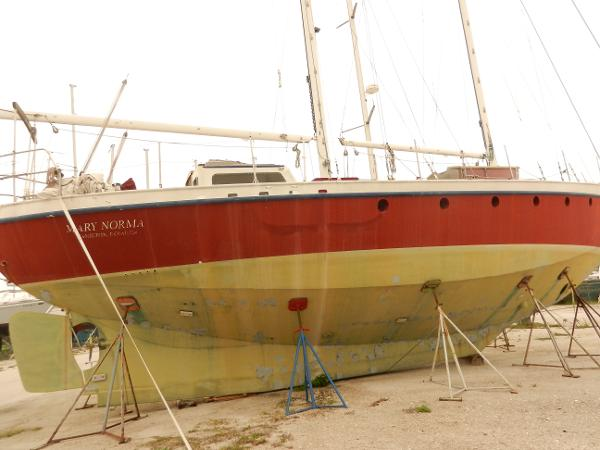 Custom Steel Bermudan Schooner 50 Steel Sailboat