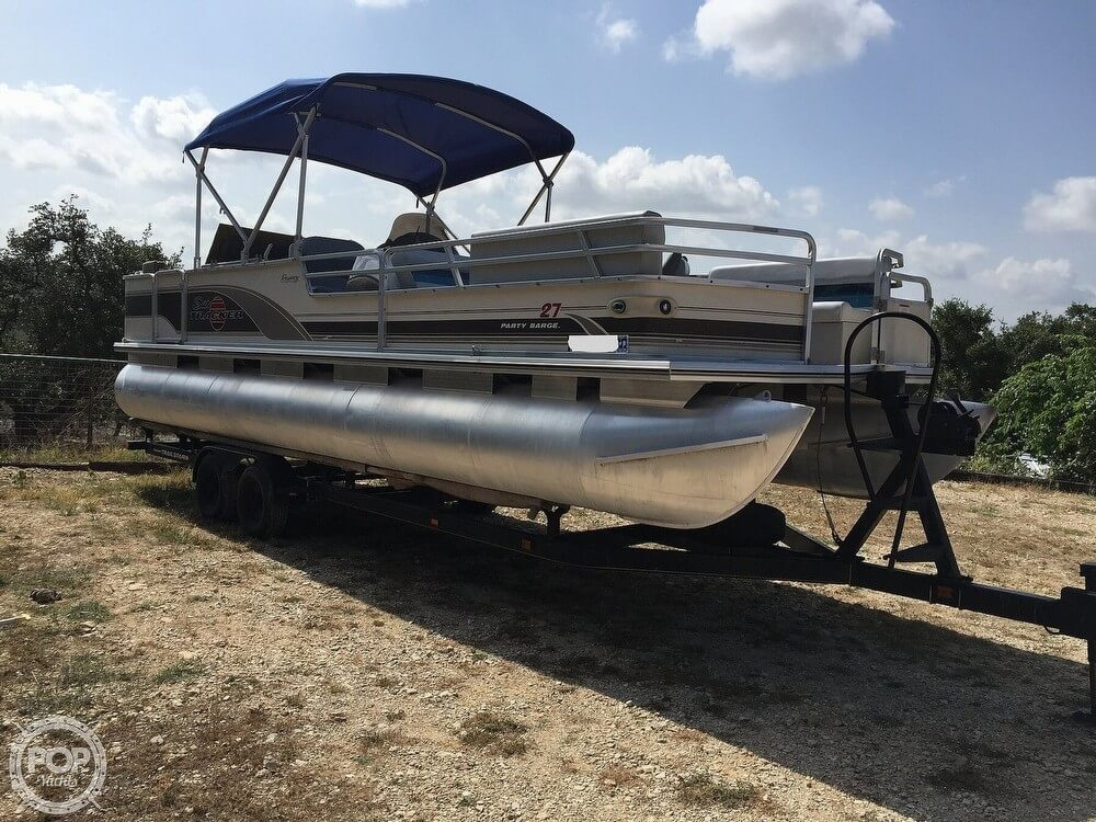 Sun Tracker Regency Party Barge 27' 2001 Sun Tracker Regency Party Barge 27' for sale in Spring Branch, TX