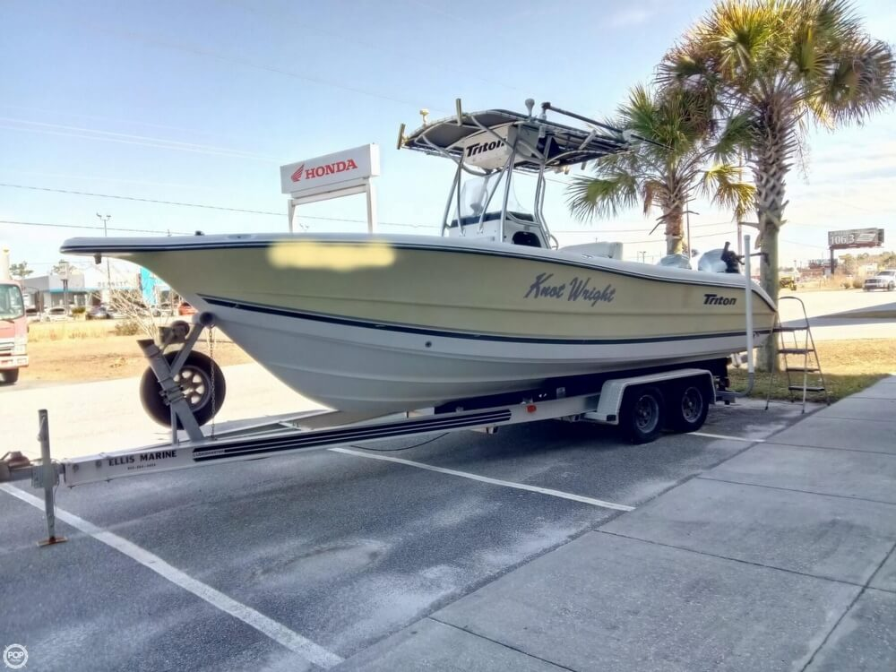 Triton 2486 Center Console 2003 Triton 2486 for sale in Kingsland, GA