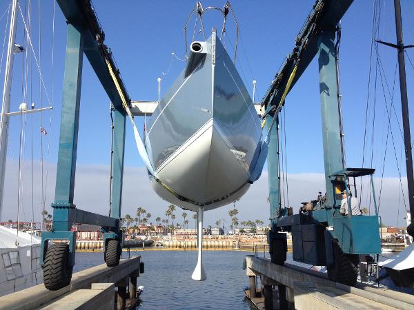 J Boats J 145 J145 J/145 J-145 New Awlgrip Arctic Grey Metalic Grey Topsides Paint
