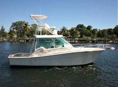 Topaz Custom 32 Royale RE-POWERED Starboard Profile