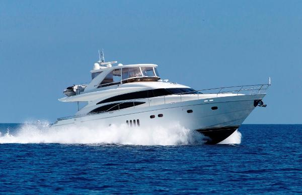 Princess 70 Viking Sport Cruiser Flybridge Profile