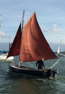 """Traditional 20ft Gaff Dayboat Traditional Dayboat """"Albert & Florence"""""""