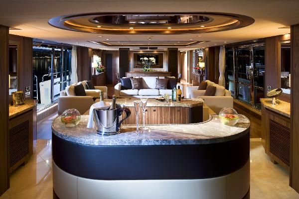 Sunseeker 40M Yacht Interior